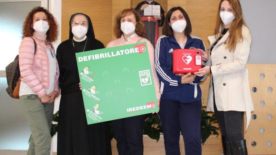 Consegna defibrillatore Maggio 2021